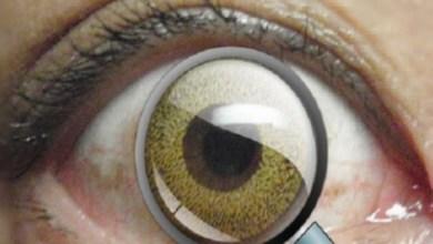 صورة برمشة عين.. تكبير الرؤيا بواسطة عدسات لاصقة مزودة بمكبر
