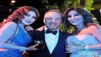صورة لأول مرة بعد القطيعة.. رقص هيفاء وإليسا في حفل زفاف نجل إيلي صعب