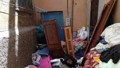 """صورة سلطات """"كازا"""" تُفرغ والد فنان مغربي- عالمي من منزله"""