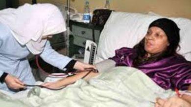 صورة الراقصة فيفي عبدو ترقد بالمستشفى لهذا السبب