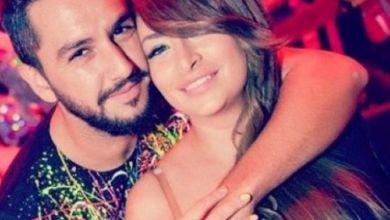 صورة السورية ديما بياعة في وضعية مثيرة رفقة زوجها المغربي- صورة