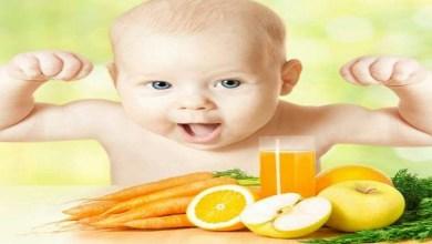 صورة أطعمة مهمة تقوي مناعة جسم طفلك