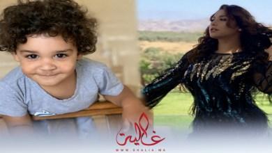 صورة فيديو طريف لهدى سعد ونجلها فارس