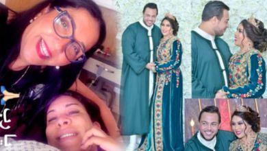 """صورة نجاة رجوي تستقبل مولودها """"يحيى"""""""