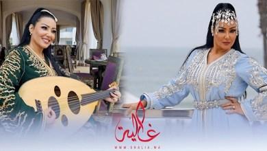 صورة غالية ونص.. كواليس جلسة تصوير النجمة المصرية سمية خشاب بالقفطان المغربي- فيديو