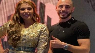صورة صورة لنور الدين أمرابط رفقة نجل هدى سعد تثير إعجاب الجمهور