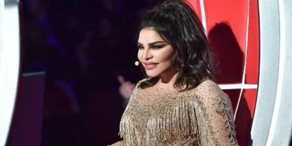 """الفنانة أحلام تكشف حمل متسابقة مغربية في برنامج """"ذا فويس"""""""