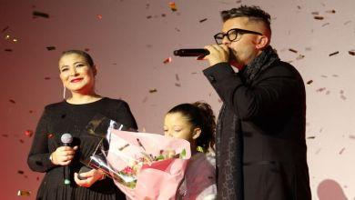 صورة في حفل ضخم حضره أشهر النجوم.. حاتم عمور يحتفل بإختتام ألبومه- فيديو