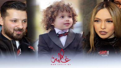 """صورة وسام أمير يلمح لـ """"تقصير"""" خولة بنعمران في تربية إبنهما- فيديو"""