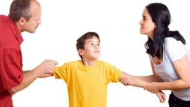صورة الطلاق يسبب مشاكل صحية للأطفال