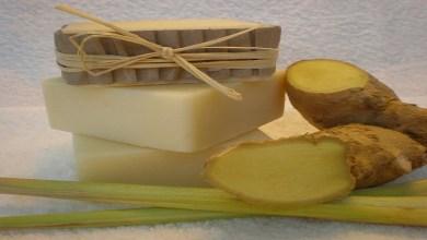 صورة طريقة صناعة صابون الزنجبيل للتخلص من مشكلة السيلوليت بالجسم
