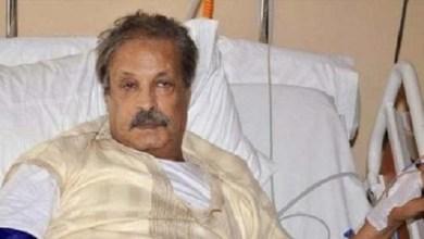صورة الفنان عبد العظيم الشناوي في حالة صحية حرجة -صورة