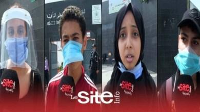 صورة تلاميذ الباكالوريا يشيدون بالإجراءات الوقائية ضد كورونا خلال الإمتحانات – فيديو