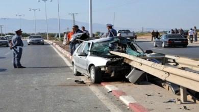 صورة كوميدي مغربي شهير يتعرض لحادث سير خطير