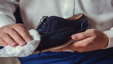صورة حيل ونصائح لحماية أحذية الجلد من التلف