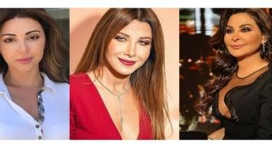 صورة إليسا ونانسي عجرم وميريام فارس في حالة حزن!!