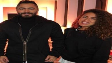 """صورة تامر حسني ومنة عدلي القيعي يجتمعان في أغنية """"ارفع إيدك"""""""