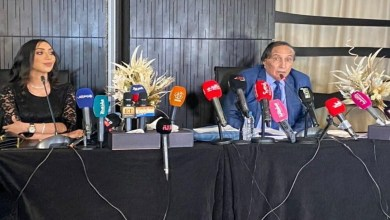 صورة صور.. إجراءات مشددة في ندوة للفنانة المغربية دنيا بطمة