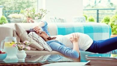 صورة احساس الحامل بالإجهاد يدل على الحمل بفتاة