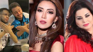 """صورة مشاهير يقدمون واجب العزاء لأهالي ضحايا """"فاجعة طنجة""""- صور"""