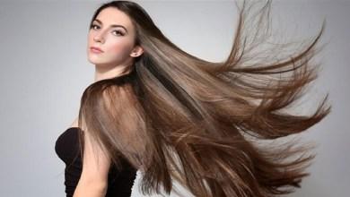 صورة ماسكات طبيعية للحصول على شعر طويل