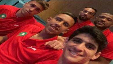 """صورة على أنغام """"الدق تم"""".. لاعبوا المنتخب الوطني يثيرون الجدل – فيديو"""