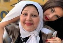 صورة رضوى الشربيني تعايد والدتها الراحلة -صورة