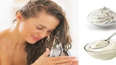 صورة ماسك طبيعي لعلاج الشعر المصبوغ