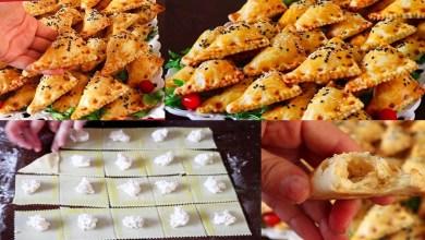 صورة وصفات رمضان.. أسهل طريقة لتجهيز المورقة بالجبن والزعتر – فيديو
