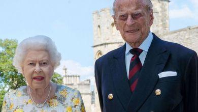 صورة وفاة زوج الملكة البريطانية إليزابيث الثانية