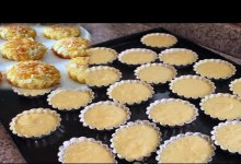 صورة وصفات العيد.. طريقة تحضير ميني بسبوسة بالتفاح -فيديو