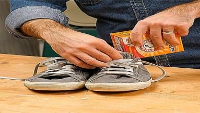 صورة بمكون واحد.. تخلصي من رائحة الأحذية