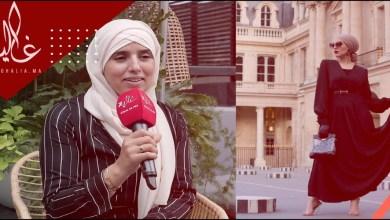 """صورة خضرة اليعقوبي مؤسسة ماركة """"INESS.B"""" تفتح قلبها لـ """"غالية"""" – فيديو"""