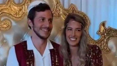 """صورة إسرائيلي يختار """"حفل الحنة"""" على الطريقة المغربية"""