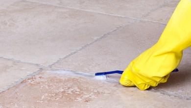 صورة طرق سهلة لتنظيف فواصل السيراميك