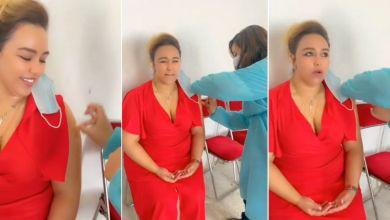 صورة بعد تلقيها اللقاح ضد كورونا.. الجمهور يهاجم الشيخة طراكس – فيديو