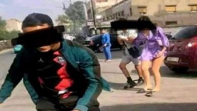 صورة في أول خروج له.. صاحب فيديو التحرش يكشف سبب إقدامه على ضرب فتاة بطنجة