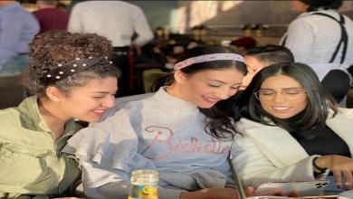 صورة تعليق مؤثر من رجاء بلمير بخصوص حمل صديقتها مريم أصواب- فيديو