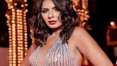 صورة نجلاء بدر تثير الجدل بسبب فستانها -صورة