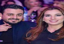 صورة رشيد العلالي وزوجته يخطفان الأنظار-صورة
