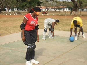 Image result for GOALBALL IN GHANA