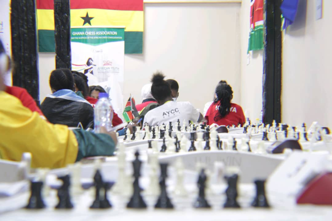 Ghana performing well in the 2021 African Youth Chess Championships