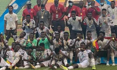 Black Satellites To Present U20 African Cup Of Nations Trophy To President Akufo Addo
