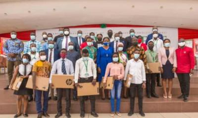 Zoomlion supports KNUST students with 50 laptops under SONSOL project