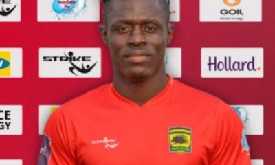 Libyan Giants Ittihad Tripoli Join Chase for Asante Kotoko Striker Kwame Poku