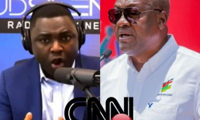 I Am Not A Coward To Tell You The Truth If Everyone Is Afraid To Tell You- Kelvin Taylor Tells Mahama