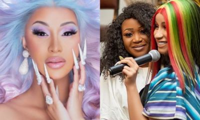 Cardi B Finally Breaks Silence Akuapem Poloo's 90 Days Sentencing -[screenshot]