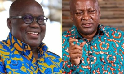 'You Scored F9 When You Sat Foe That Same Exams' - Akufo Addo Schools 'Desperate' John Mahama On His Early Campaign Gimmicks