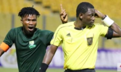 Referee Who Officiated Hearts vs Elmina Sharks Game Suspended For The Rest Of The Season