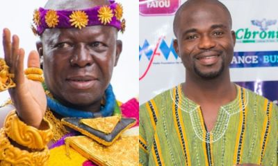 Manasseh Azure Receives A Honor From Otumfour For His Fight Against Corruption In Government